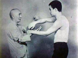 The_age_of_18_Bruce_Lee_and_Ye_Wen